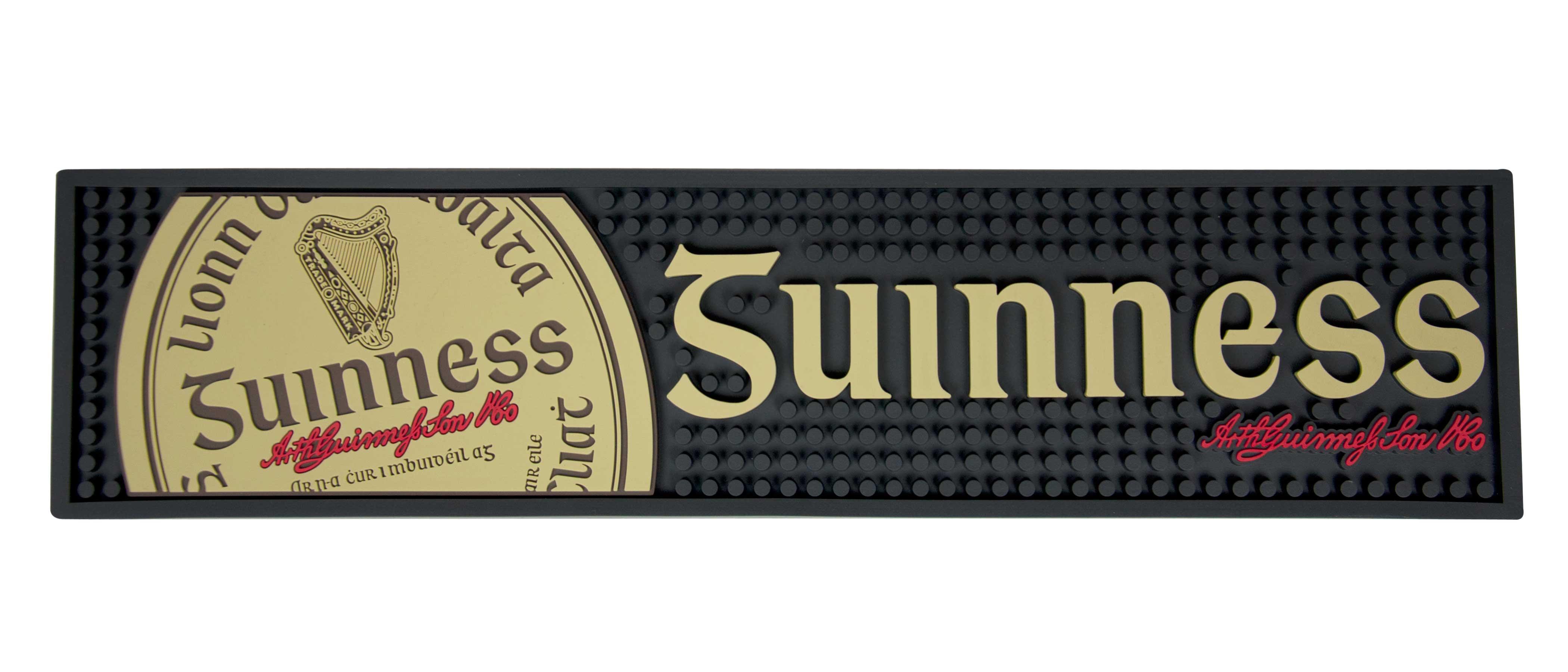 Guinness® Gaelic Label Bar Mat