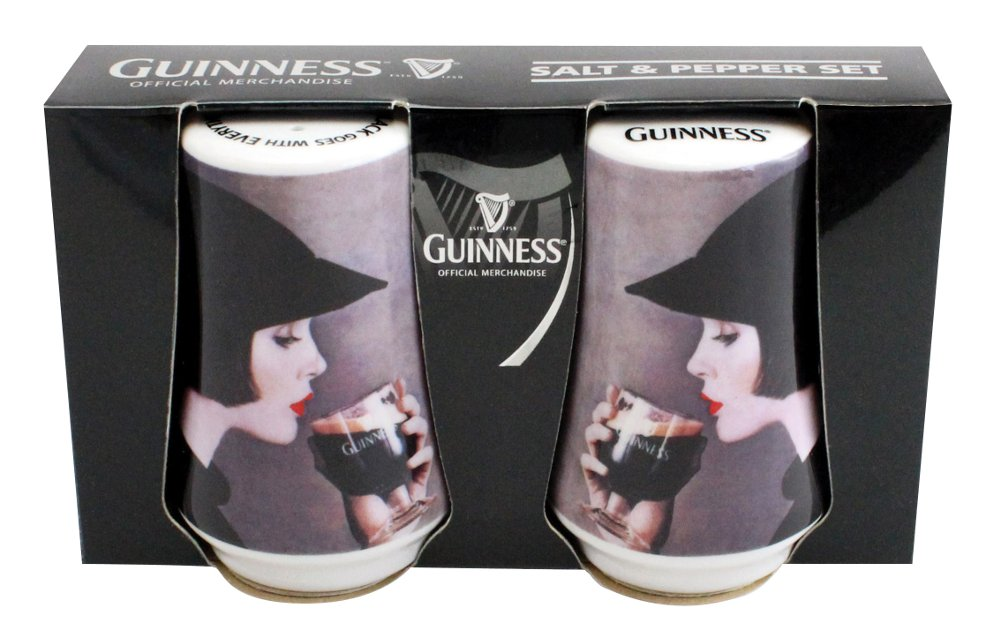 Guinness Lady Salt and Pepper